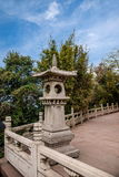 Zhenjiang Jiao Mountain Dinghui Temple million pagoda. Joyama million pagoda is located in the middle of the mountain, originally thought to be part of the Stock Images