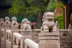 Zhenjiang Jiao Shan Ding Hui Temple stone bridge Stock Photos