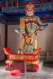 Zhenjiang Jiaoshan Dinghui tempelkonung Kong Arkivbild