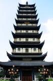 Zhenru Temple Pagoda Royalty Free Stock Images