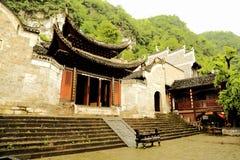 Zhenyuan är den forntida staden en berömd stad med en historia av över 2000 år royaltyfri fotografi