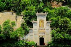 Zhenyuan är den forntida staden en berömd stad med en historia av över 2000 år arkivfoton
