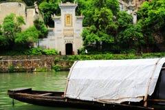 Zhenyuan är den forntida staden en berömd stad med en historia av över 2000 år arkivbild