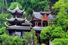 Zhenyuan är den forntida staden en berömd stad med en historia av över 2000 år royaltyfria bilder