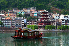Zhenyuan Ancient Town, China Stock Image
