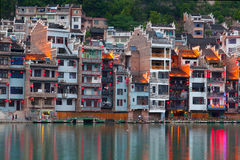 Zhenyuan Ancient Town, China Stock Images
