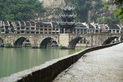 Zhenyuan, an ancient town in Guizhou, China. Royalty Free Stock Image