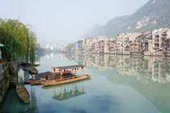 Zhenyuan Ancient Town in Guizhou China Royalty Free Stock Photos