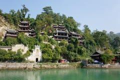 Zhenyuan Ancient Town in Guizhou China Stock Image