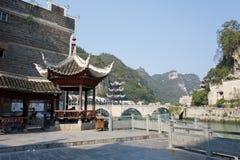 Zhenyuan Ancient Town in Guizhou China Royalty Free Stock Image
