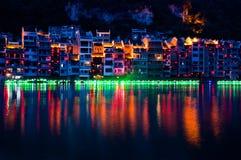 Zhenyuan Antyczny miasteczko na Wuyang rzece w Guizhou prowinci, Chiny zdjęcia stock