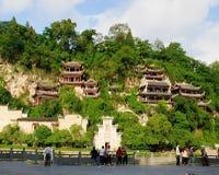 Zhenyuan forntida stad Arkivbild