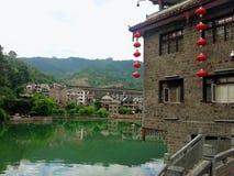 Zhenyuan forntida stad, Kina royaltyfria bilder