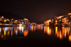 Zhenyuan, Guizhou, Cina fotografia stock libera da diritti
