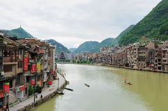 Zhenyuan - Guizhou-Porzellan Stockbild