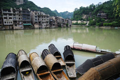Zhenyuan old town Royalty Free Stock Image