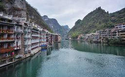 Zhenyuan, old town landscape in guizhou,china Stock Photography