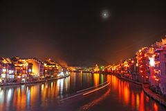 Zhenyuan old town at night Royalty Free Stock Photography