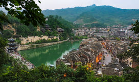 Zhenyuan old town Stock Image