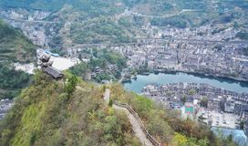Zhenyuan, old town view in guizhou,china Stock Image