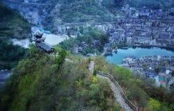 Zhenyuan, old town view in guizhou,china 2 Royalty Free Stock Photo