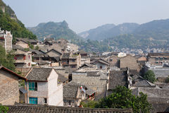 Zhenyuan Oude Stad in Guizhou China Stock Foto