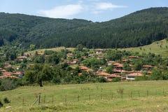 Zheravna,保加利亚建筑储备与19世纪房子的 库存图片