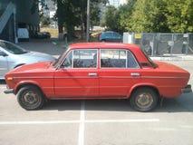 Zhiguli, Kyiv, 20 jaar oude auto Royalty-vrije Stock Fotografie