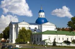 Zhirovichi Monastery in Belarus Stock Images