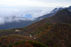 Zhong Nan Mountains Foto de Stock Royalty Free