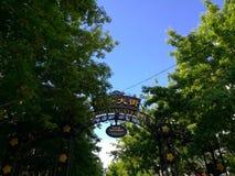 Zhong Yang Street in HarbinХарбиР½ Royalty-vrije Stock Foto's