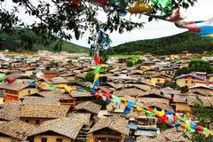 Zhongdian av Kina Arkivfoton