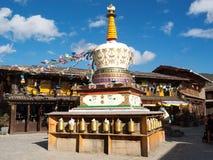 Zhongdian Stadt, Yunnan-Provinz Stockfoto