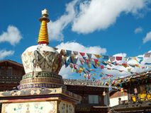 Zhongdian Stadt, Yunnan-Provinz Lizenzfreies Stockbild
