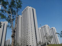 ZhongGuoJianZhu (arquitetura chinesa) Imagem de Stock