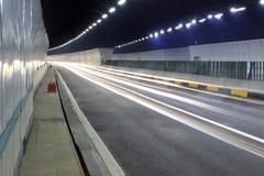 Zhonggushan高速公路隧道 库存照片