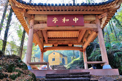 Zhonghe Pavilion Stock Photography