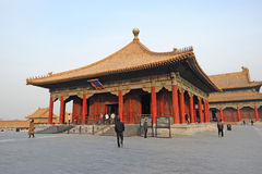 Zhonghedian,The Forbidden City (Gu Gong) Stock Photography