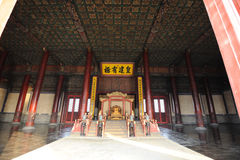Zhonghedian,The Forbidden City (Gu Gong) Royalty Free Stock Photography