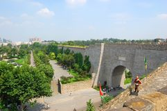 Zhonghua Brama, Nanjing, Chiny Zdjęcie Royalty Free