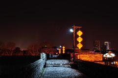 Zhonghua Gate Castle night Royalty Free Stock Images