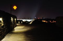Zhonghua Gate Castle night Royalty Free Stock Photos