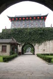 Zhonghua   gate  of  nanking Royalty Free Stock Photo