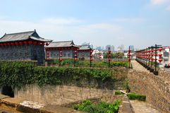 Zhonghua Nanjing Bramy Linia horyzontu i, Chiny Zdjęcie Royalty Free