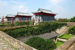 Zhonghua port, Nanjing, Kina Arkivfoto