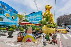 Zhongquan het communautaire 3D kunst schilderen Royalty-vrije Stock Afbeelding