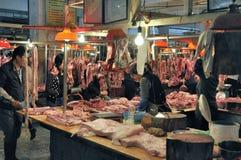 Zhongshan,china: market Royalty Free Stock Photos