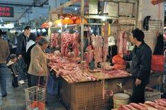 Zhongshan,china: market Royalty Free Stock Images