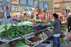 Zhongshan,china: market Royalty Free Stock Photo