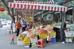Zhongshan,china: street market Stock Image